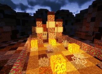 Unfair Halloween map for Minecraft