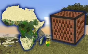 Toto Africa song in Minecraft