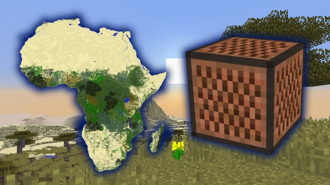 Toto Africa song Minecraft Note Block cover - the best remake ever
