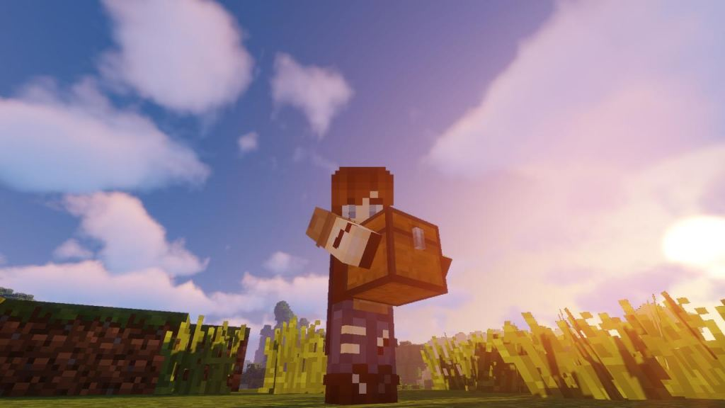 Carry On mod for Minecraft