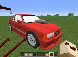 Cars mod 1.12.2 for Minecraft