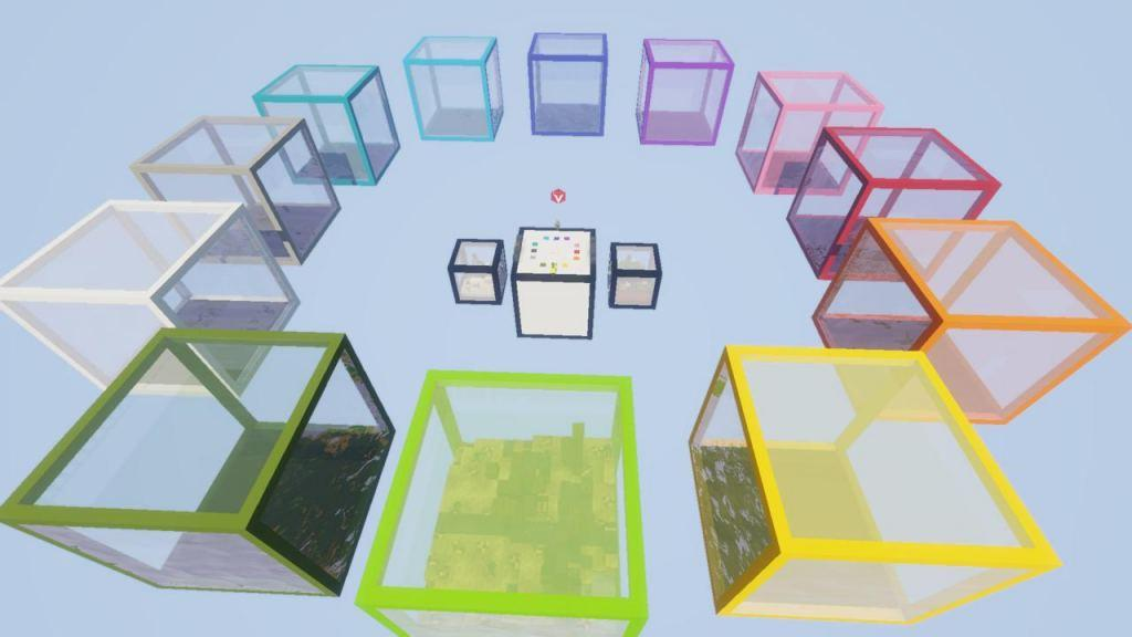 Crafting Cube map for Minecraft - screenshot 5