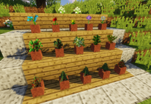 Floricraft mod for Minecraft