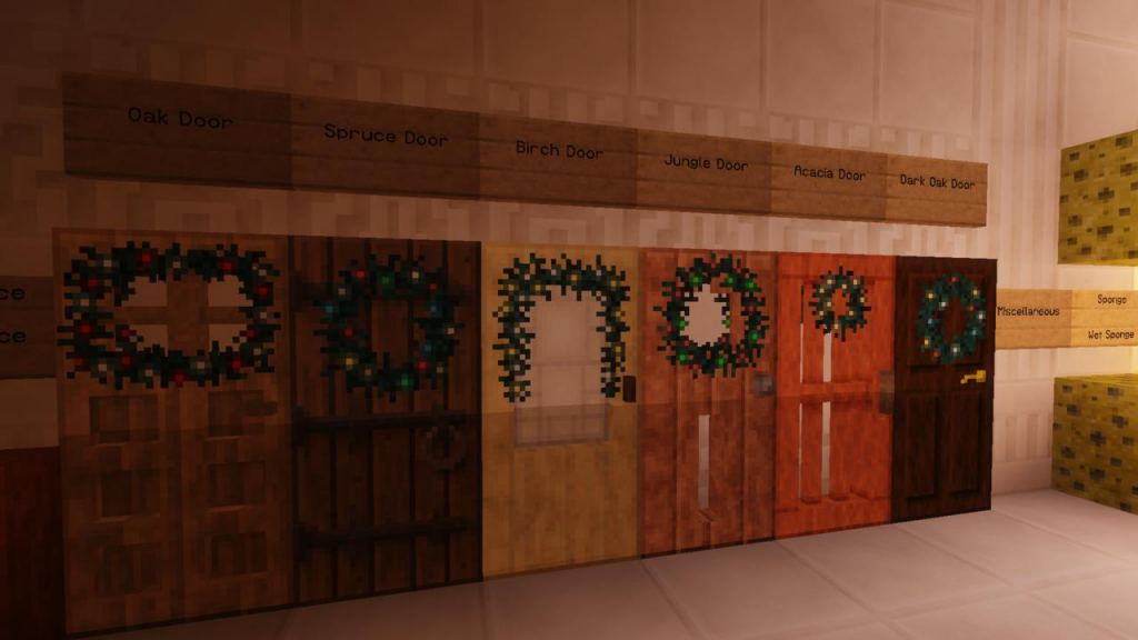 Lithos Christmas resource pack addon 32x for Minecraft