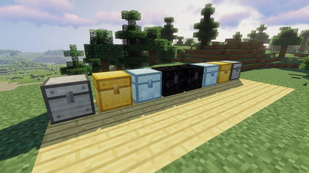 MetalChests mod for Minecraft