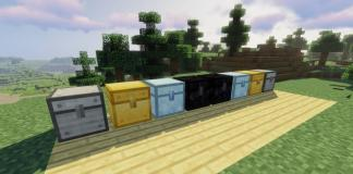 MetalChests mod for Minecraft