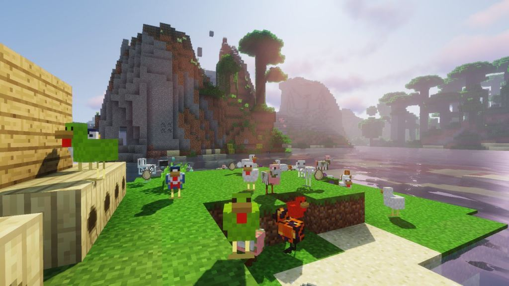 More Chickens mod for Minecraft 1.12.2 - add on for ... | 1024 x 576 jpeg 77kB