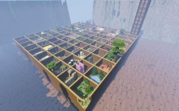 Parkour Paradise 2 map for Minecraft
