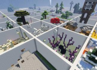 Parkour Paradise 3 map for Minecraft