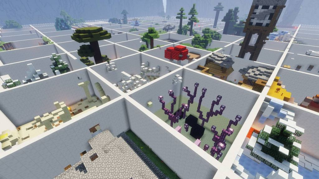Download «U Parkour» (7 mb) map for Minecraft