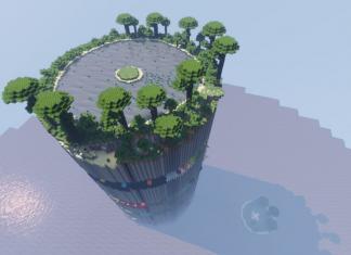 Parkour Spiral map for Minecraft - screenshot 3