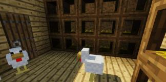 Roost mod for Minecraft