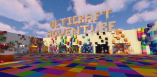 Ulticraft Adventure map for Minecraft