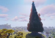 Christmas Tower map for Minecraft 1