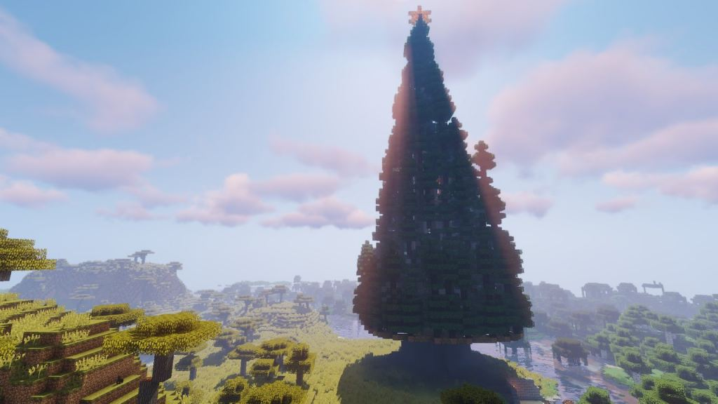 Minecraft Christmas Map.Christmas Tower Map For Minecraft 1 12 2 Extremely Big