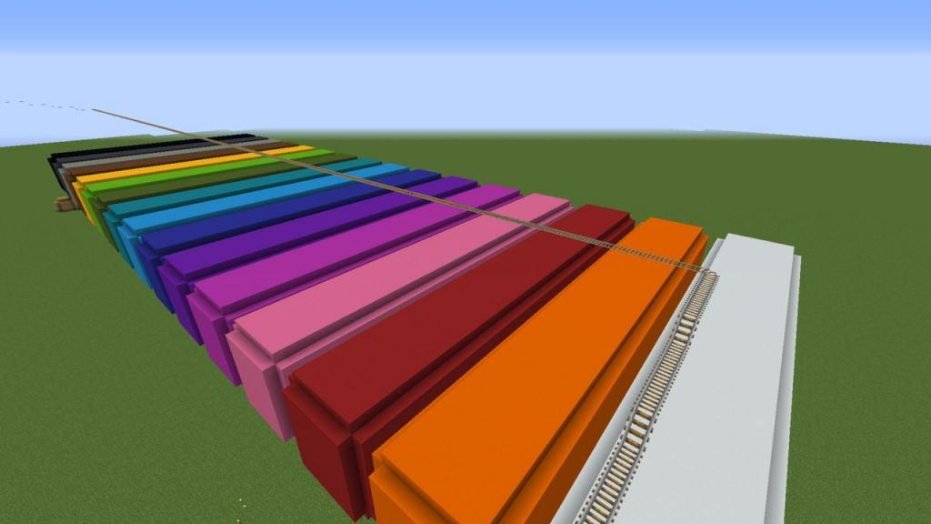 Color Parkour map for Minecraft - screenshot 3