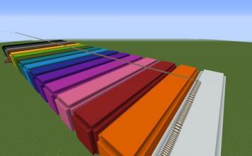 Color Parkour map for Minecraft - screenshot 3