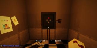 Five nights in the dark map for Minecraft - screenshot 2