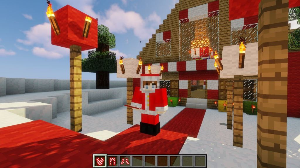 Minecraft Noel Noel Christmas mod for Minecraft 1.12.2   a Xmas decoration mod