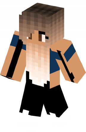 Ombre Outfit skin