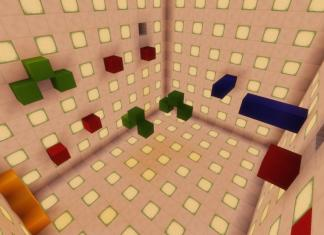P.A.R.K.O.U.R. map for Minecraft - screenshot 6