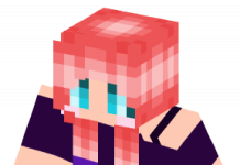 Red Head Pig Tails Edit skin