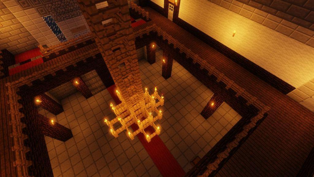 Resident Evil 1 map for Minecraft - screenshot 6
