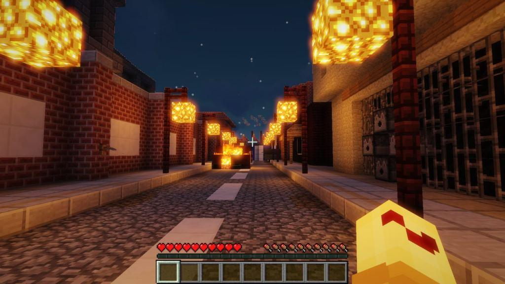Resident Evil 2 map for Minecraft 1