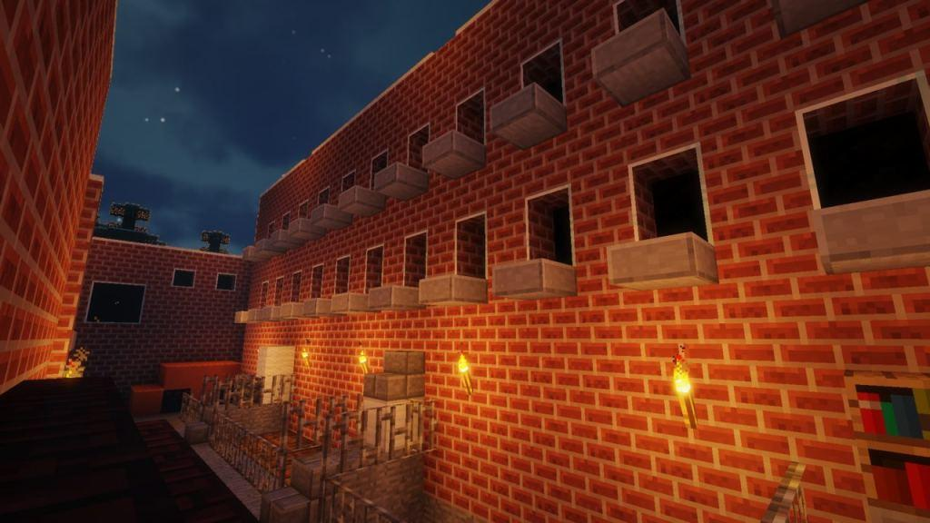 Resident Evil 2 map for Minecraft 2
