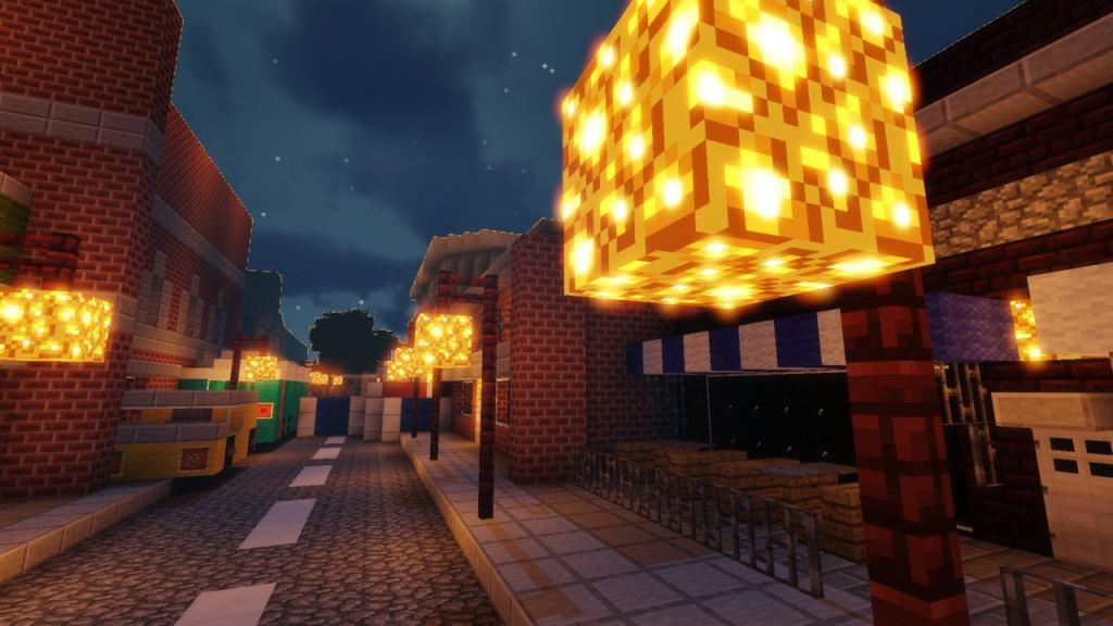 Resident Evil 2 map for Minecraft 3