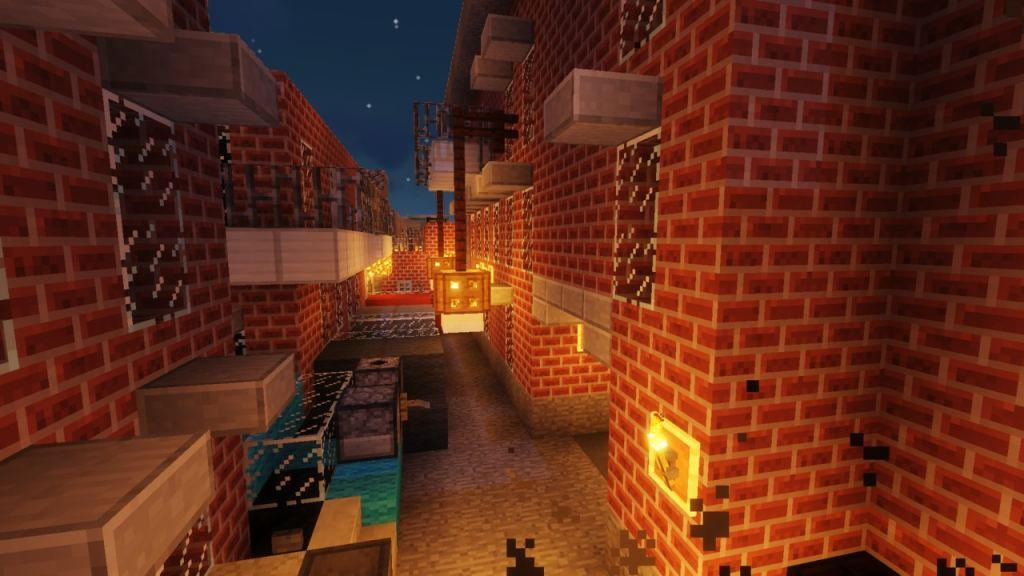 Resident Evil 3 map for Minecraft 1