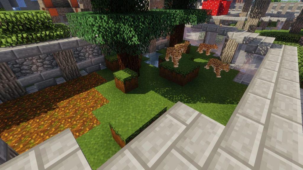 Zoo & Wild Animals Rebuilt mod for Minecraft 1 12 2