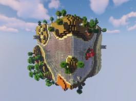 Planet Earth Survival map for Minecraft - screenshot 2