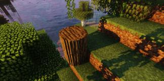 Round Trees resource pack for Minecraft - screenshot 2