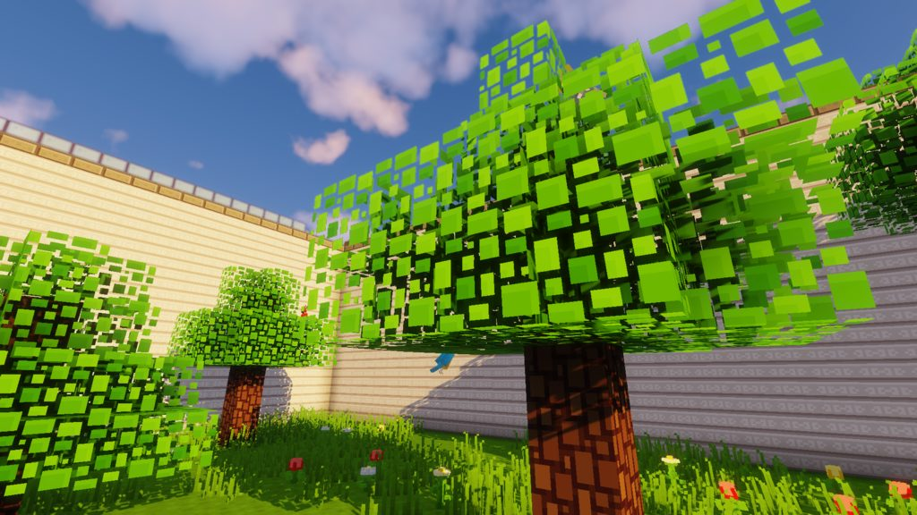 BlockPixel Java Edition resource pack for Minecraft - screenshot 1