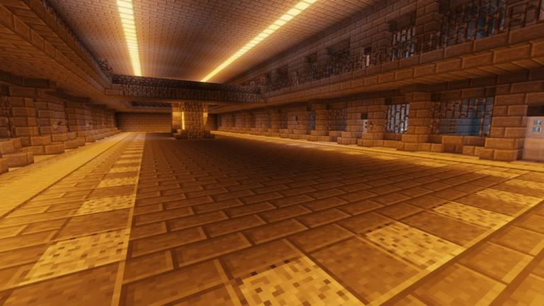Cops and Robbers Re-Classed Desert Escape map for Minecraft - screenshot 2