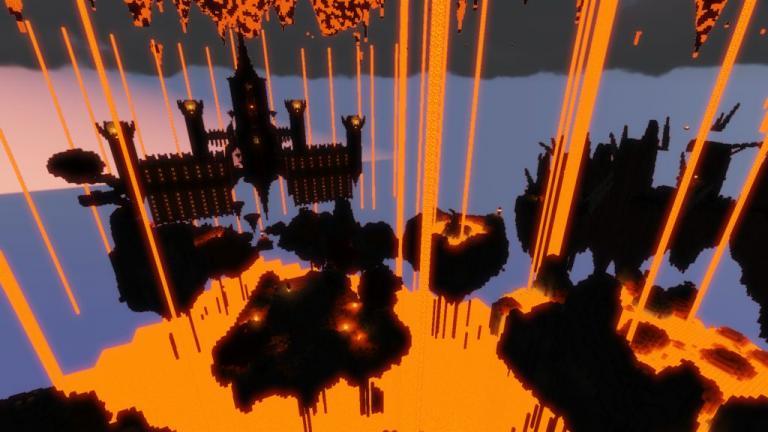 Crimson Torrent map for Minecraft - screenshot 4