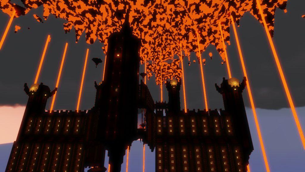 Crimson Torrent map for Minecraft - screenshot 5