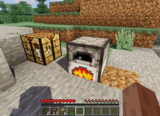 How to Make Charcoal in Minecraft - cooking in a Furnace