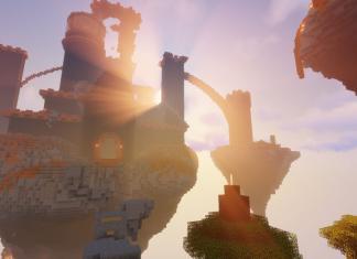 Jump Fortress map for Minecraft - screenshot 1