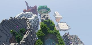 Jumping around the World map for Minecraft - screenshot 5