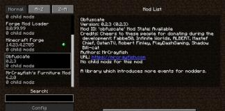 Obfuscate mod 1.12.2 and 1.13.2 for Minecraft - screenshot