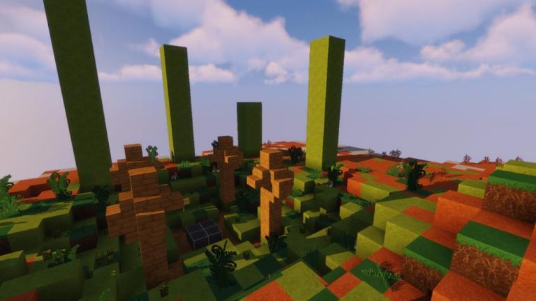 Ordinary Wonders resource pack for Minecraft - screenshot 4
