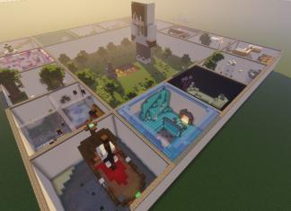 Ring of Parkour map for Minecraft - screenshot 5