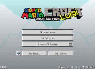 Super Mario Craft resource pack for Minecraft