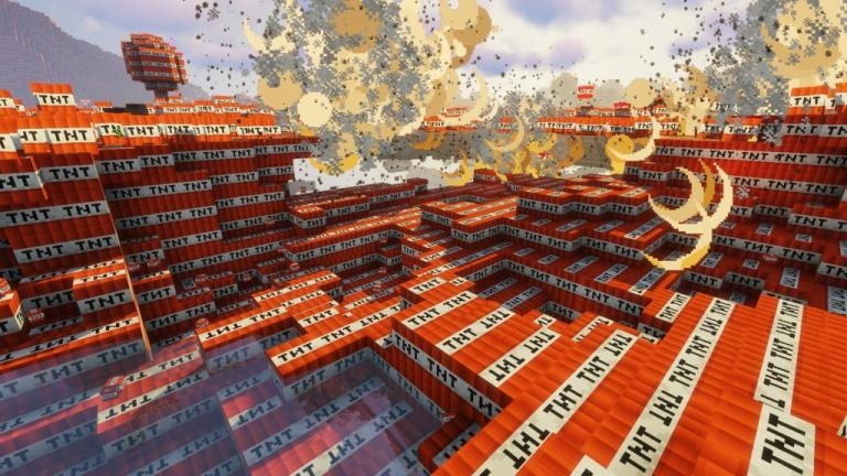 TNTcraft map for Minecraft - screenshot 2