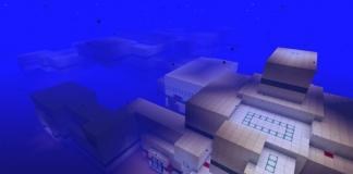 Underwater Escape map for Minecraft - screenshot 3