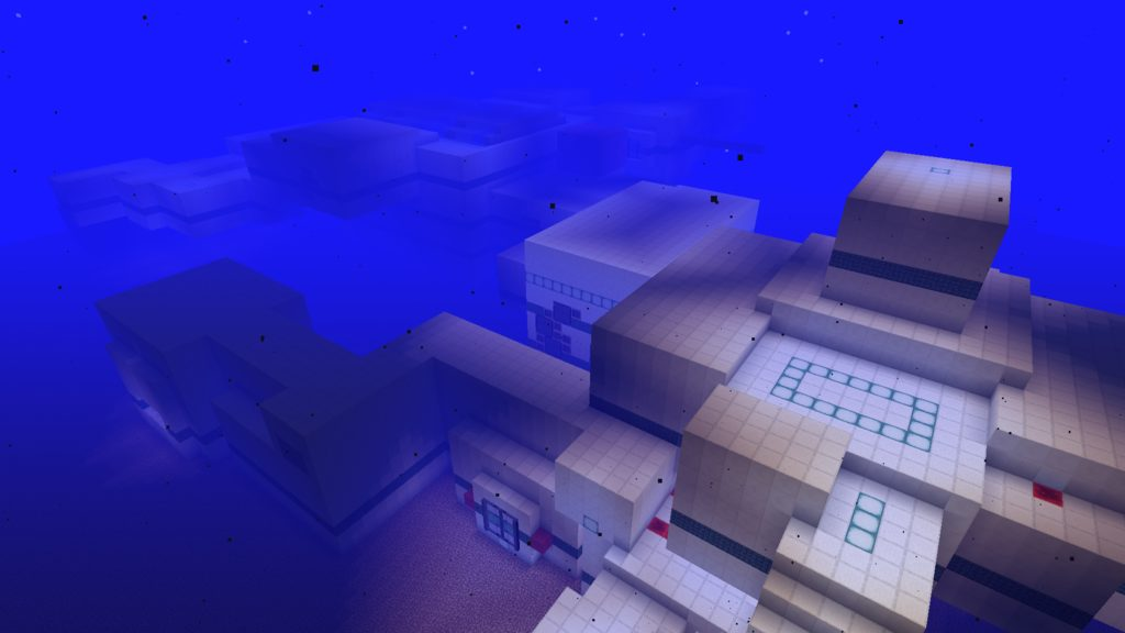 Underwater Escape map for Minecraft - screenshot 3