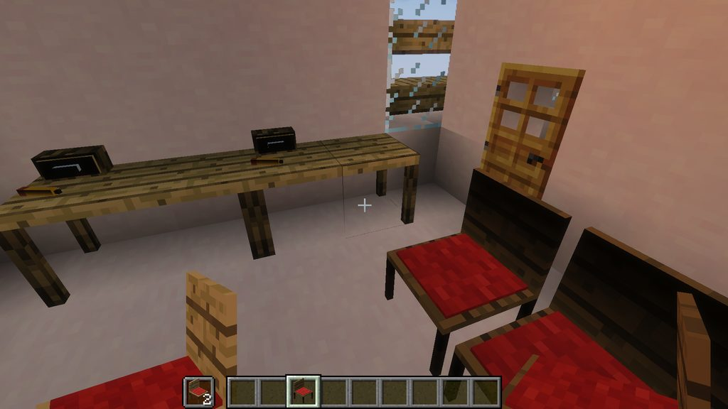 Useful Interior mod for Minecraft - screenshot 1