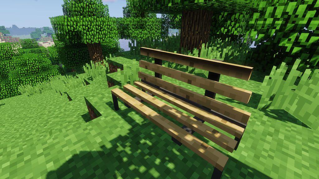 Useful Interior mod for Minecraft - screenshot 5